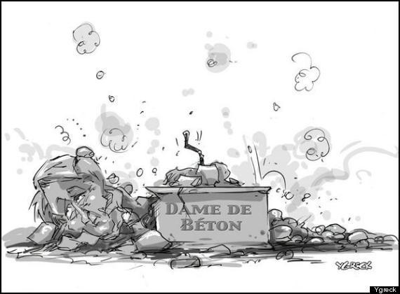 caricature ygreck