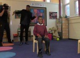 WATCH: Sturridge Plays Prank On School Kids (VIDEO)
