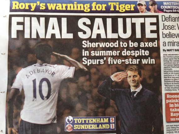 tottenham sherwood mail