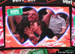 Paul McCartney Dances And Kisses At Lakers-Clippers Game