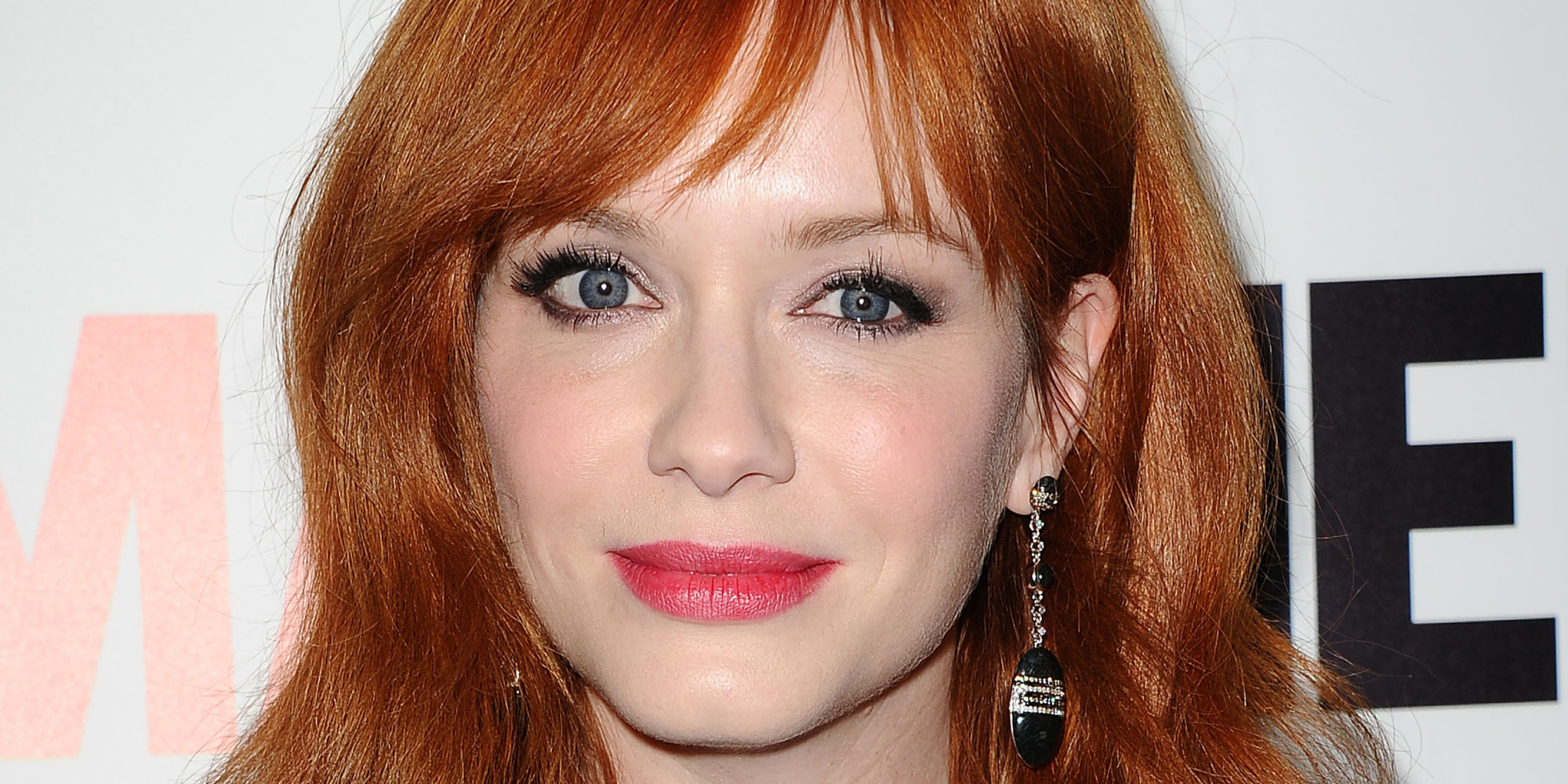 christina hendricks red carpet