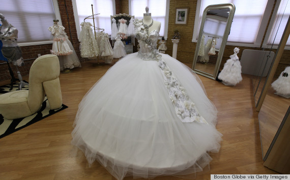 Beautiful Wedding Dresses with Bling