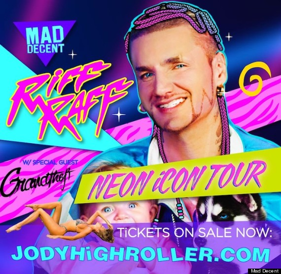 riff raff tour