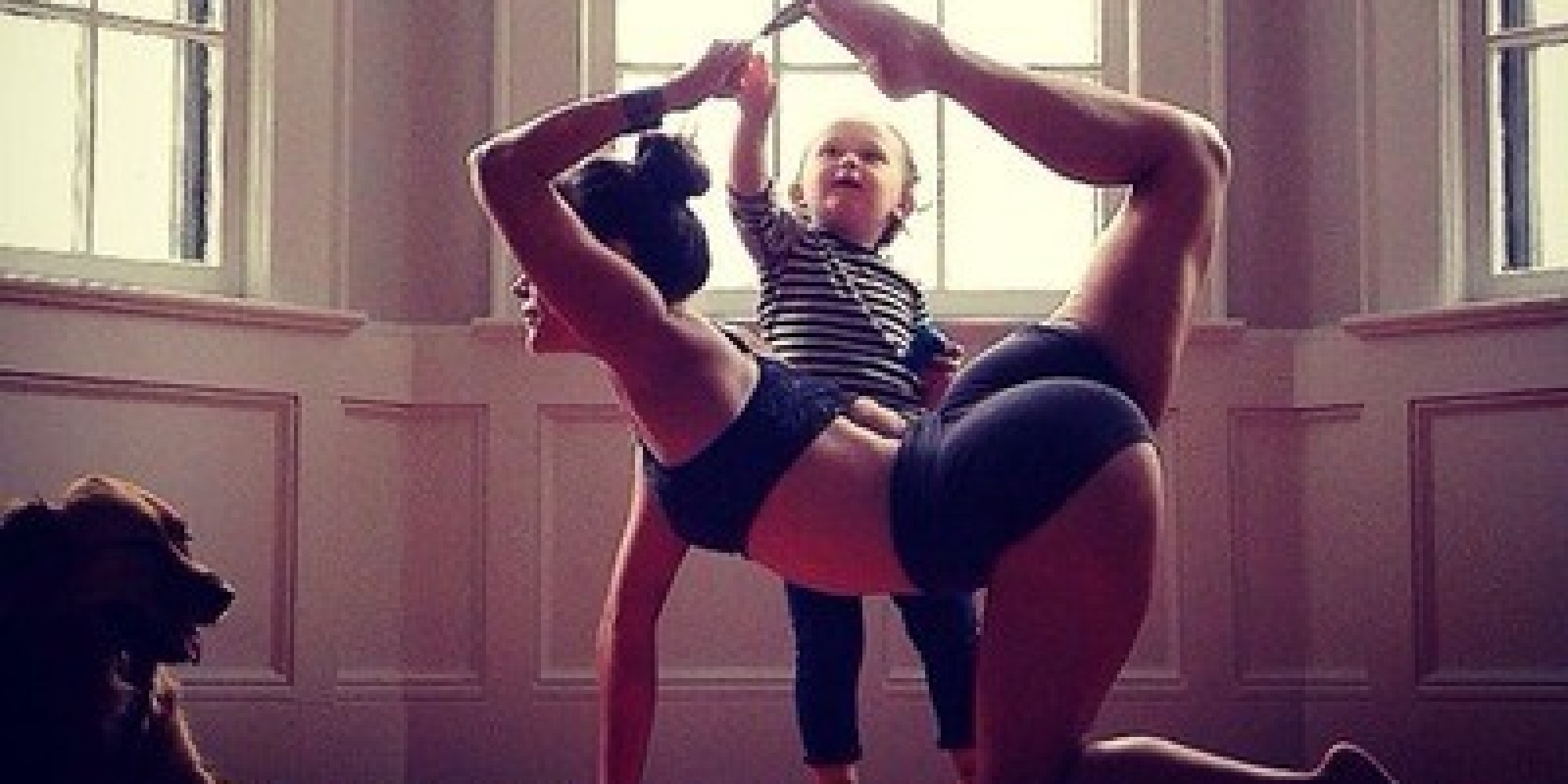 These Mother-Daughter Yoga Photos Are Equal Parts Zen And ...