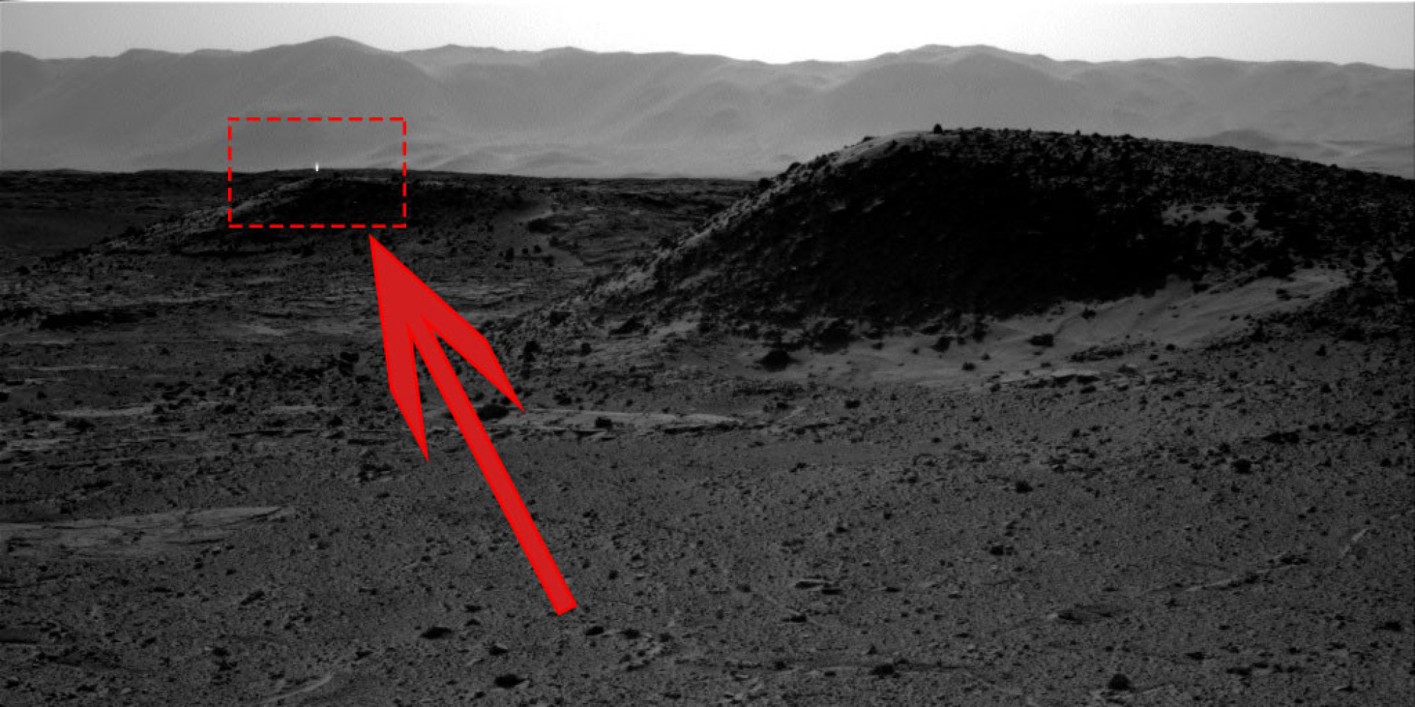 Mysterious White Light On Mars Seen In Images Taken By ...