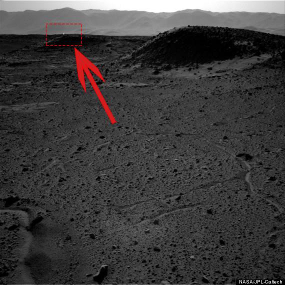 weird mars light