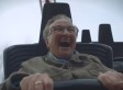 Grandma's First Roller Coaster Ride At 78 Years Old Is Pure Magic