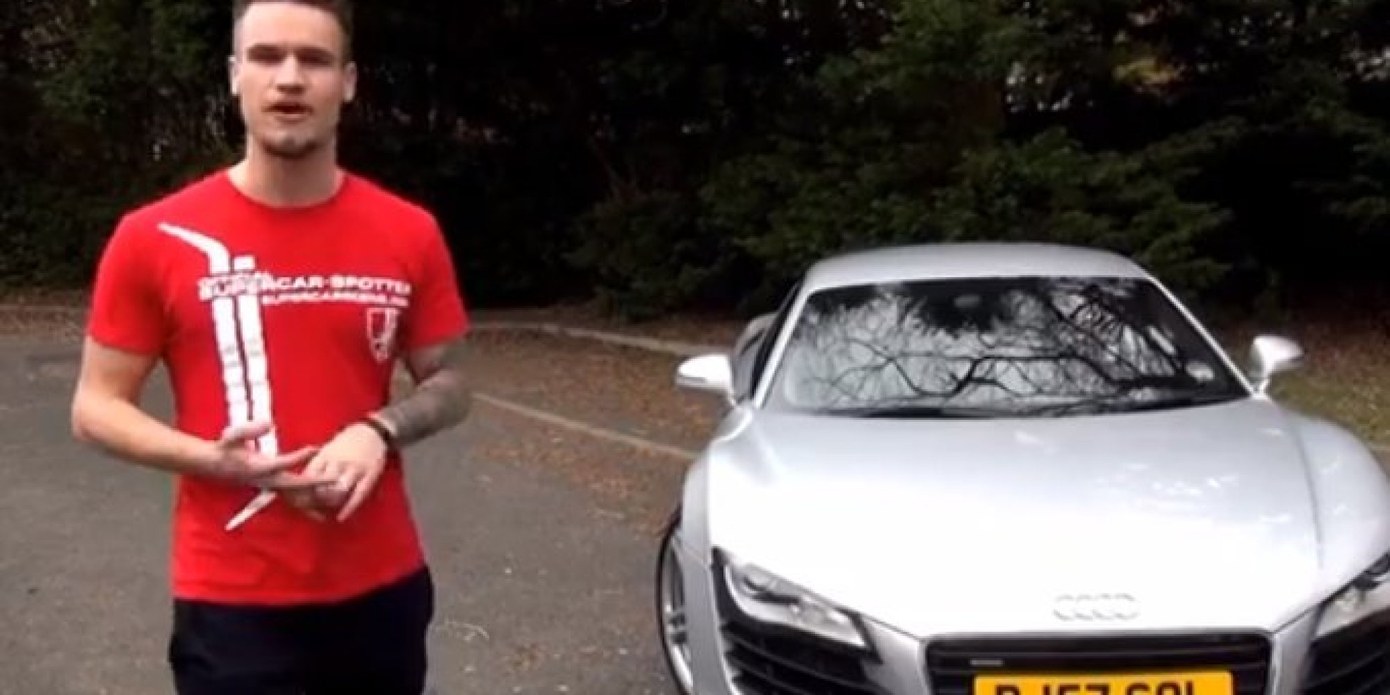 Student Paul Wallace Buys Dream Audi With Money From Youtube