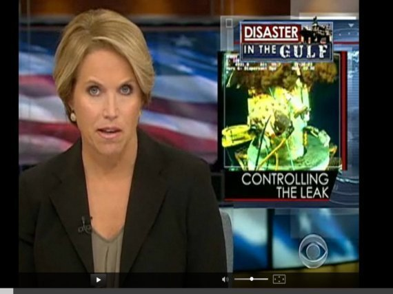 Katie Couric Oil Spill