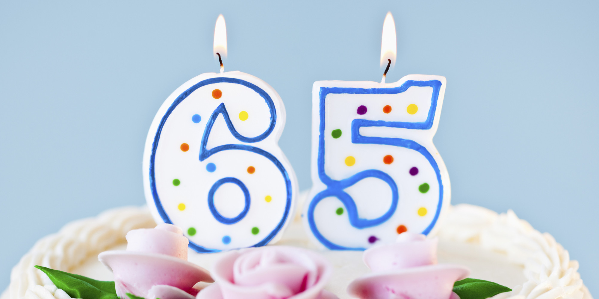 65th Birthday Cake Man Thoughts On Turning 65 Huffpost