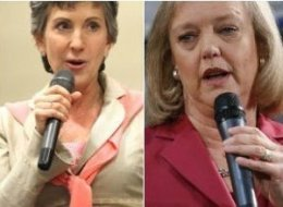Carly Fiorina Meg Whitman California