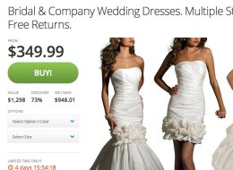 You Can Buy Everything But The Marriage License On Groupon's New Weddings Marketplace