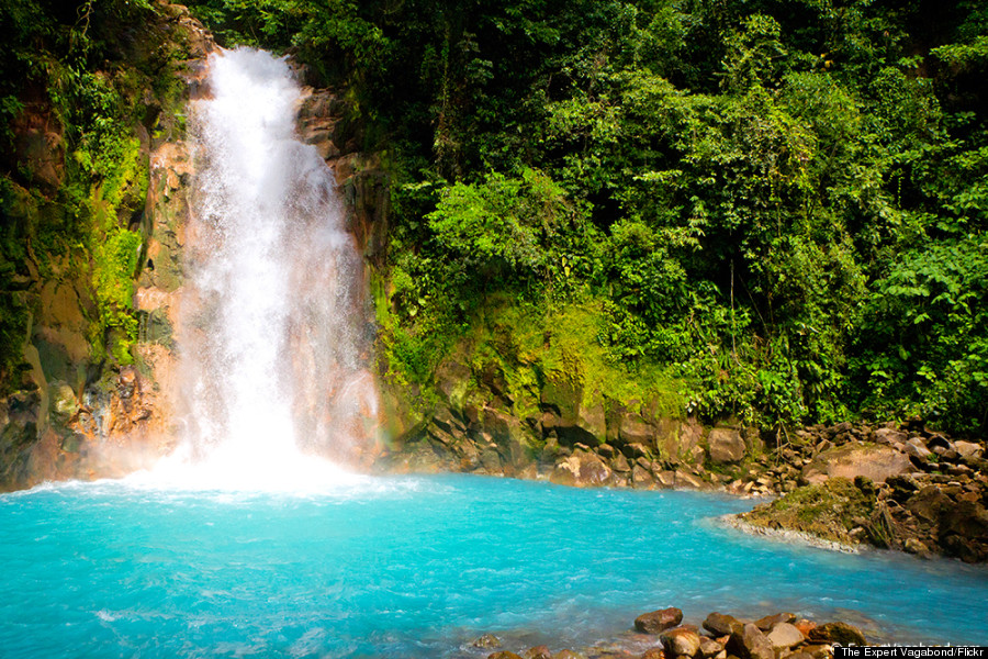 Rio Celeste Waterfall Is Quite Possibly The Bluest Waterfall On ...