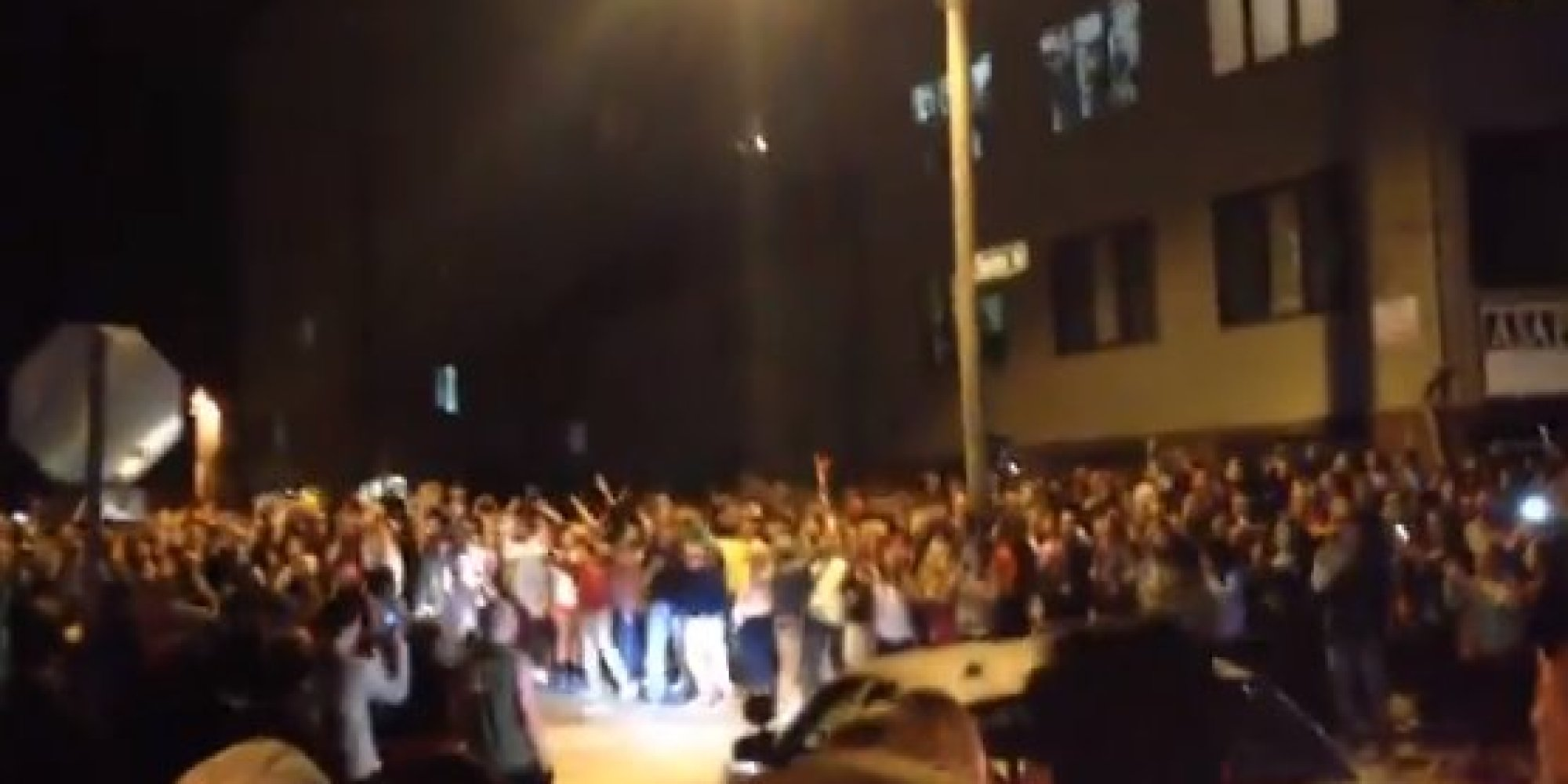 Police Say 1 Person Hurt In Iowa State University VEISHEA 2014 Riot
