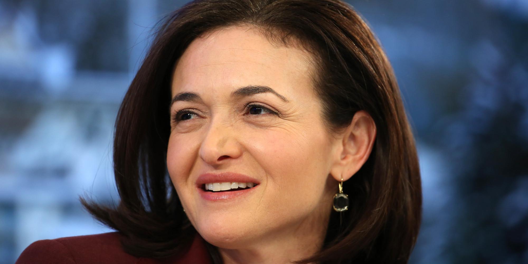 How Sheryl Sandberg Learned She Couldn't Do More On Less ... Sheryl Sandberg Photos