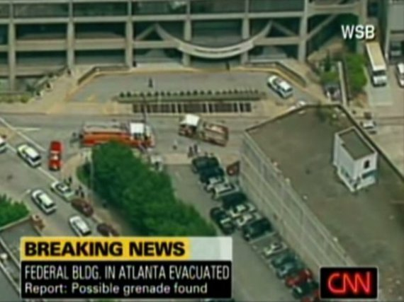 Atlanta Federal Building Evacuated