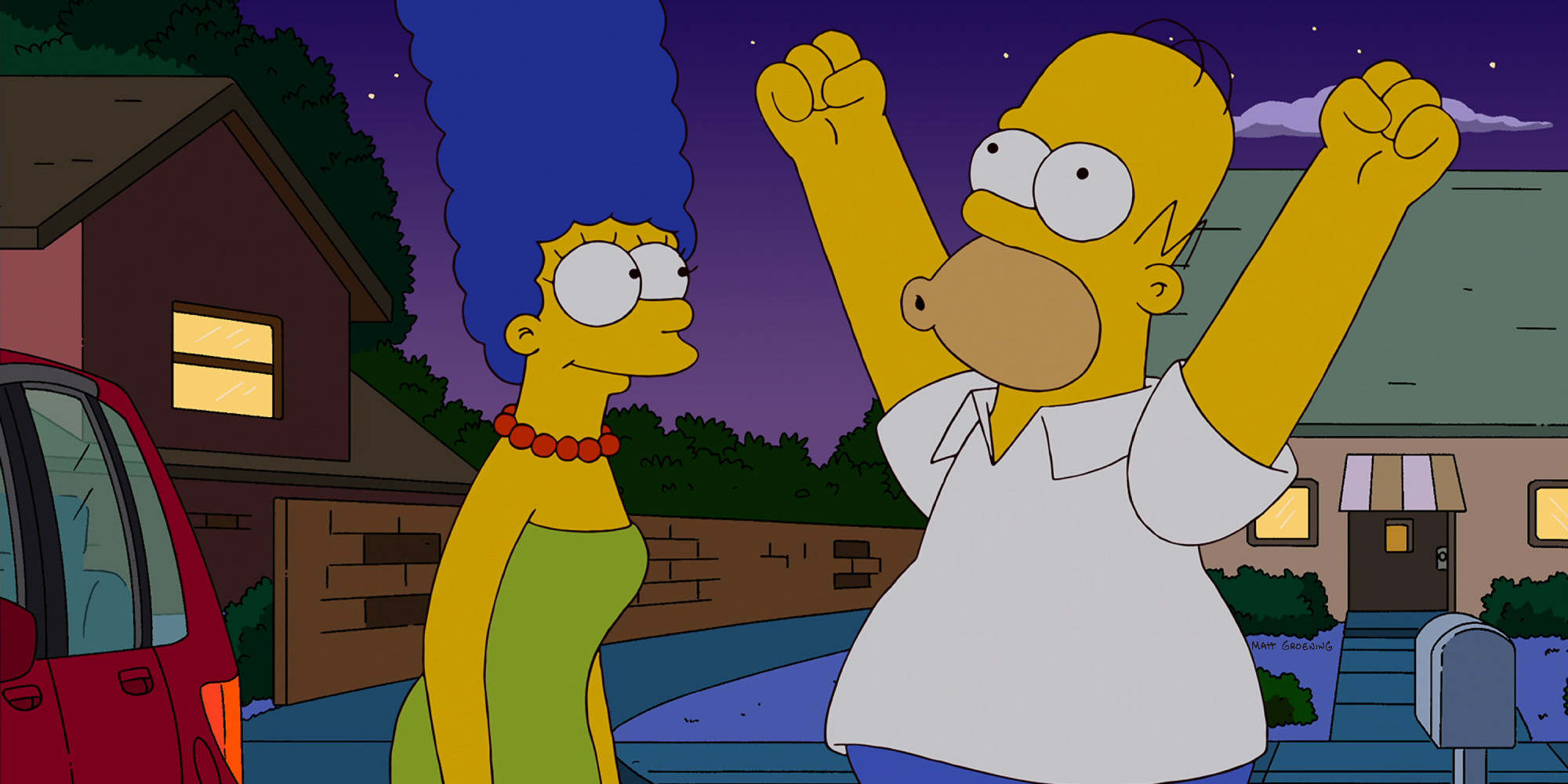 39 the simpsons 39 launches on fxx with longest continuous - Homer simpson and bart simpson ...