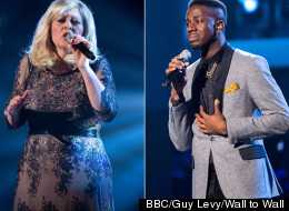'The Voice' Star Sally Thrashing Jermain In Charts
