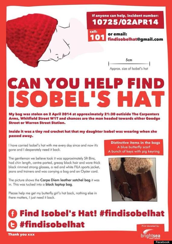 find isabels hat
