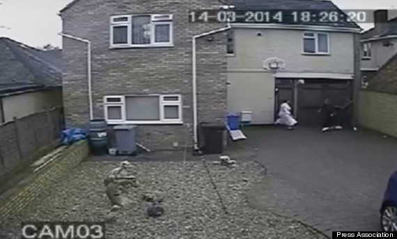 dressing gown woman attacked