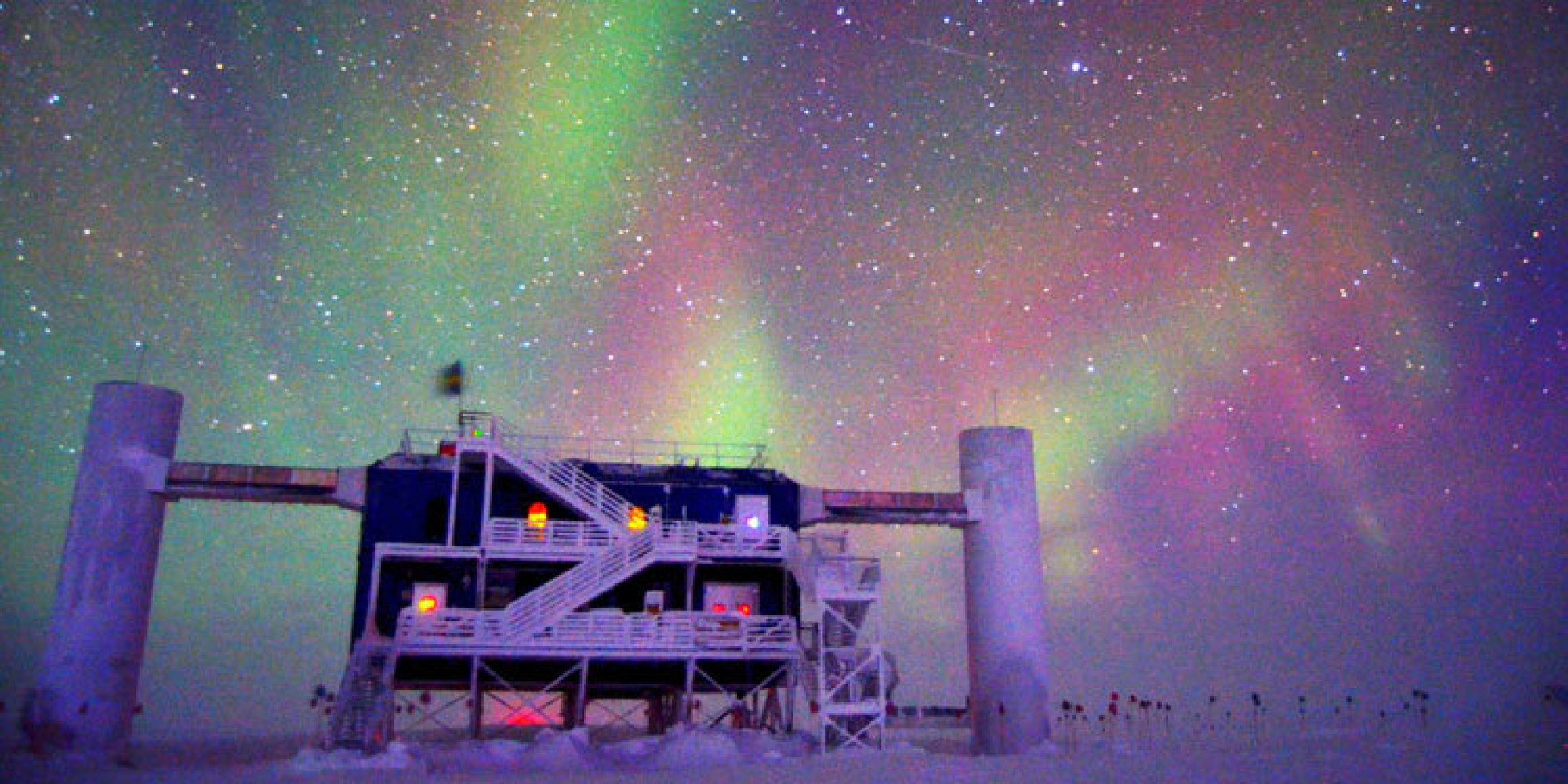 IceCube Neutrino Observatory Takes A Hit From Exotic Space ...