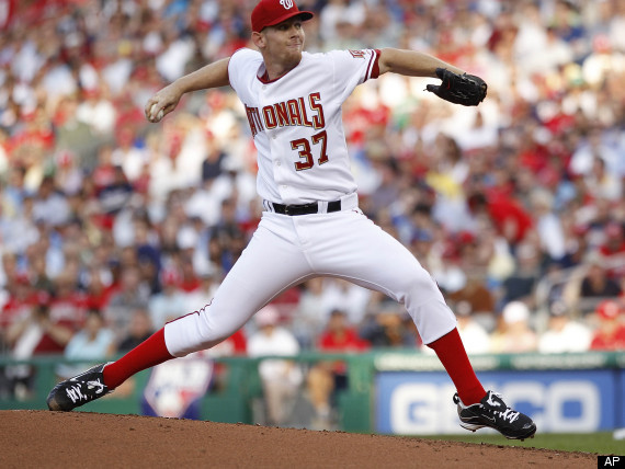 STEPHEN STRASBURG DOMINATES In MLB Debut