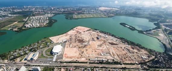 obras jogos olímpicos rio