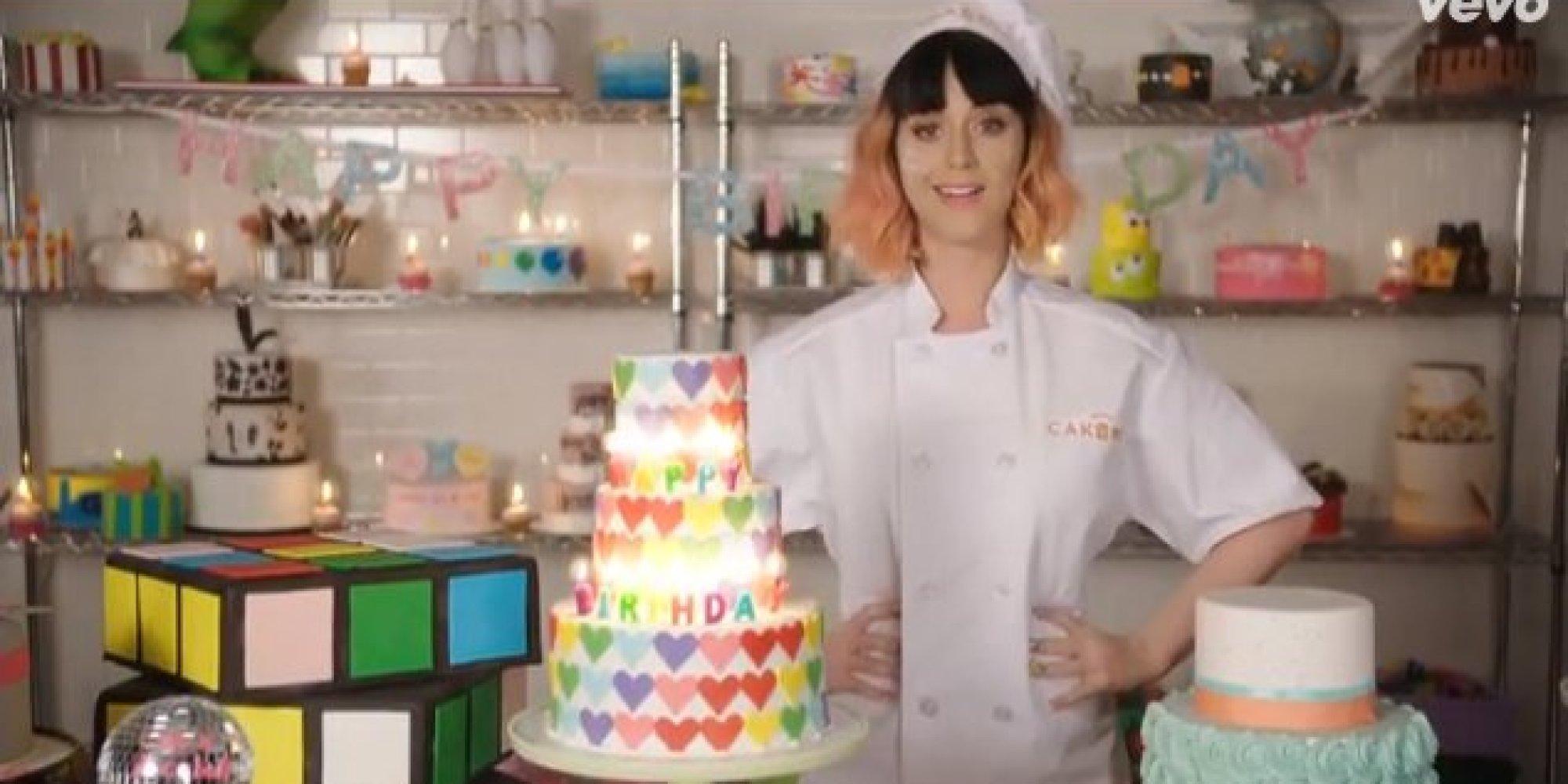Katy Perry's 'Birthday' Lyric Video Overdoses On Sweets ...