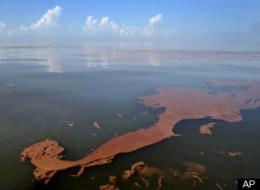 Gulf Oil Spill Burn