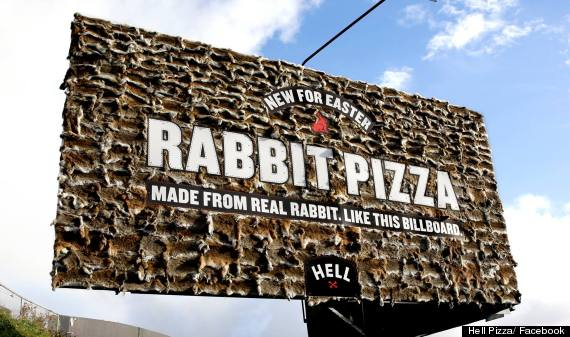 rabbit pizza