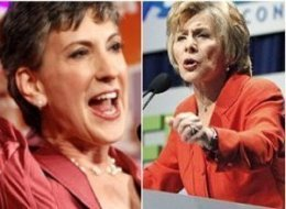 Carly Fiorina Barbara Boxer