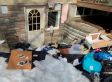Patrick Brazeau's Belongings Appear Hurled Outside In the Snow