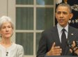 Oops! Part Of Kathleen Sebelius' Resignation Speech Is Missing