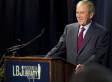 George W. Bush Slips In A Dirty Joke During Civil Rights Speech