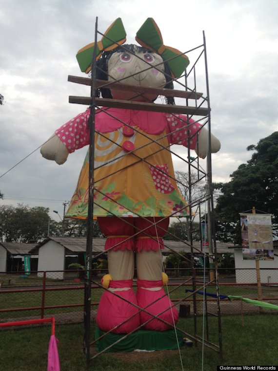 Meet Nana The Biggest Doll Ever Huffpost