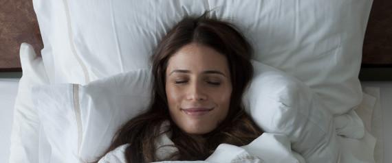 bed sleep smile