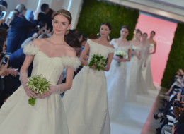 LOOK: Oscar De La Renta's Swoon-Worthy Spring 2015 Wedding Dresses