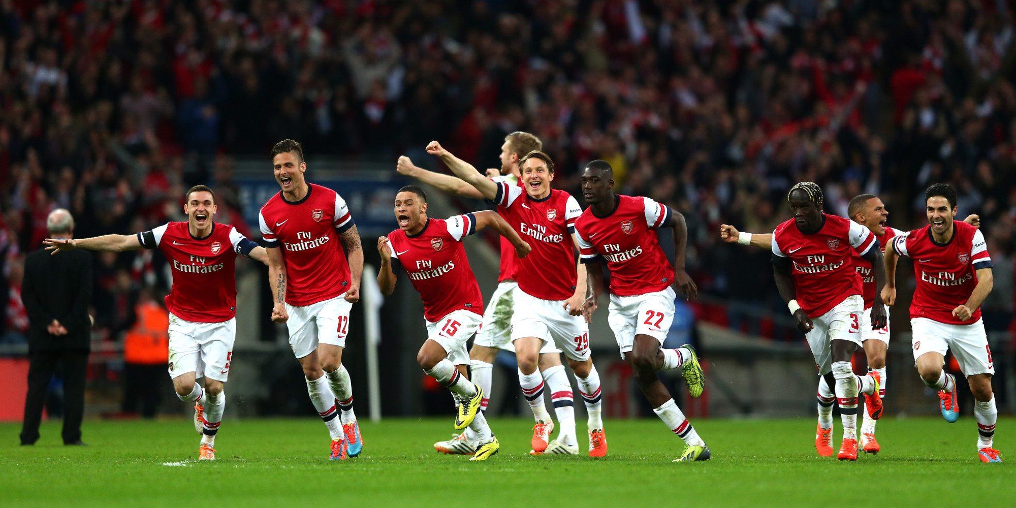 Arsenal Edge Wigan In Penalty Shootout To Reach FA Cup Final (VIDEO ...