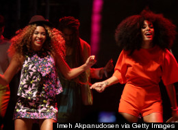 Beyonce Broke It Down With Solange During The Younger Knowles' Coachella Set