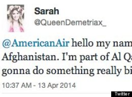 This Is Why You Should Never Send A Terrorist Threat To An Airline On Twitter