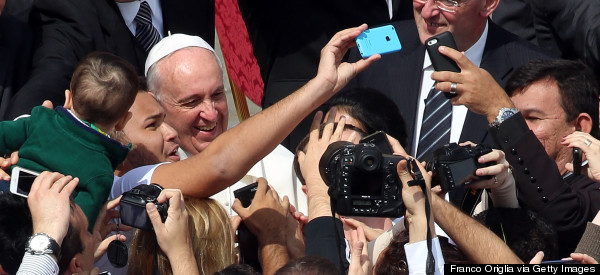 Pope Francis Is All About The #Selfie