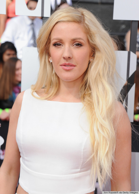 ellie goulding red carpet