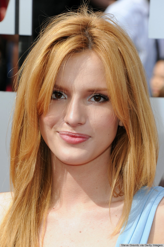 bella thorne red carpet