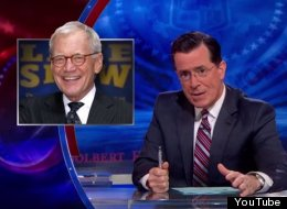 WATCH: Stephen Colbert Pays Tribute To David Letterman