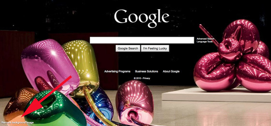 Remove Google Background Image: How To Get Rid Of Google.com ...