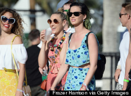 Coachella 2014: Celebs Spotted At The Festival