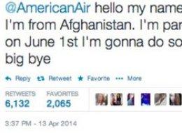 Teenager Arrested Over American Airlines Tweet