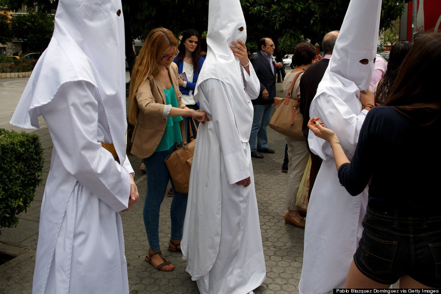 holy week processions in seville