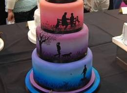 The Internet Is Truly Baffled By This Wedding Cake
