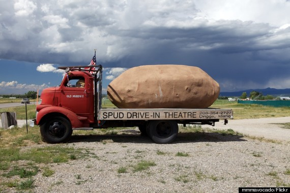 the spud drivein